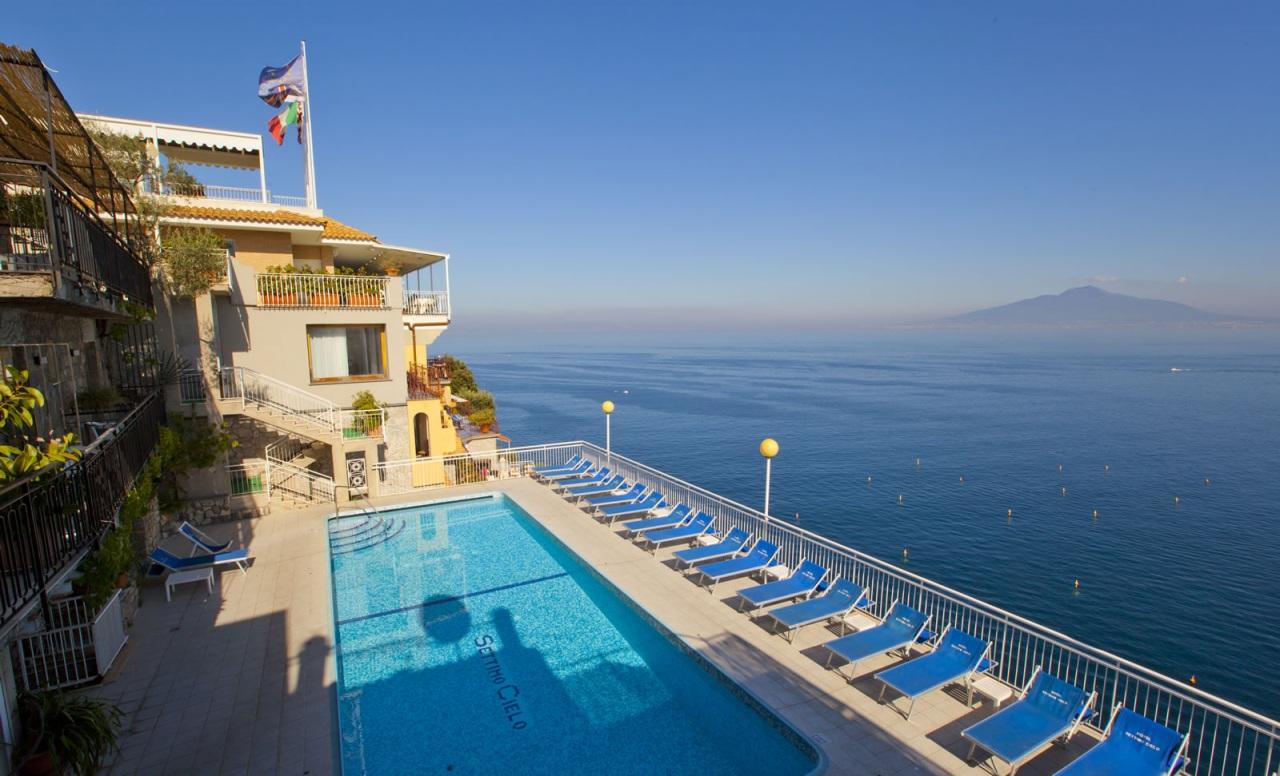 Sorrento italy hotel settimo cielo swimming pool - Hotel in sorrento italy with swimming pool ...